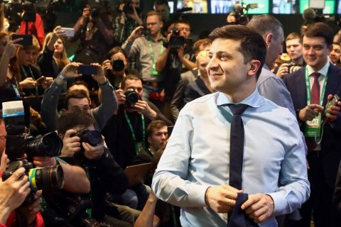 Зеленский представил план прекращения войны в Донбассе. «Жертвовать территориями мы не будем»