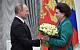 «Отрадно, что ваши знания востребованы в законотворчестве». Путин поздравил Терешкову с 84-летием
