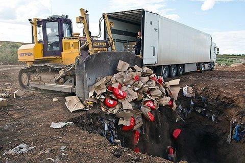 Россельхознадзор похвастался уничтожением за год 7 500 тонн санкционной еды