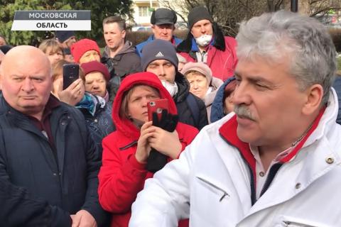 В Совхозе имени Ленина рейдеры пытались воспрепятствовать выборам Павла Грудина директором предприятия