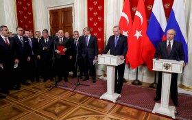 Путин и Эрдоган договорились не воевать за Идлиб. Пока