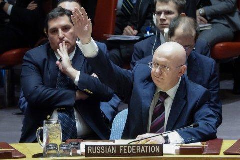 Россия в десятый раз наложила вето на американскую резолюцию по Сирии