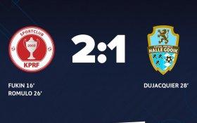 Команда КПРФ по мини-футболу одержала пятую подряд победу в кубке УЕФА