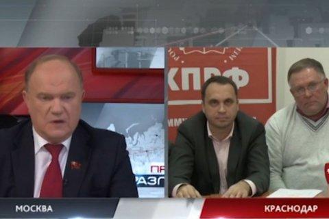 На встрече с Путиным Геннадий Зюганов намерен поставить вопрос о правах кубанских фермеров
