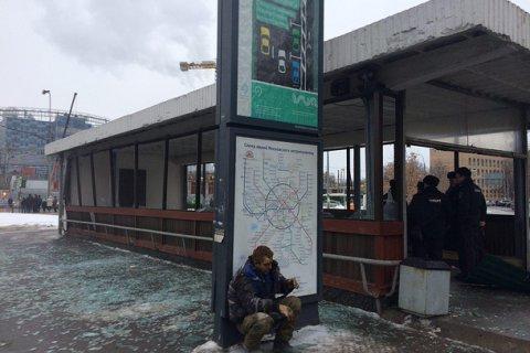 У метро «Коломенская» в Москве взорвался газовый баллон