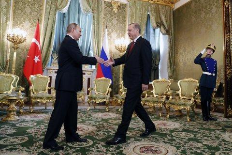 В Кремле сравнили Путина и Эрдогана: Они похожи