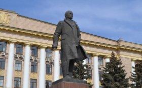 Липецкие коммунисты требуют оставить памятник Ленину на центральной площади города