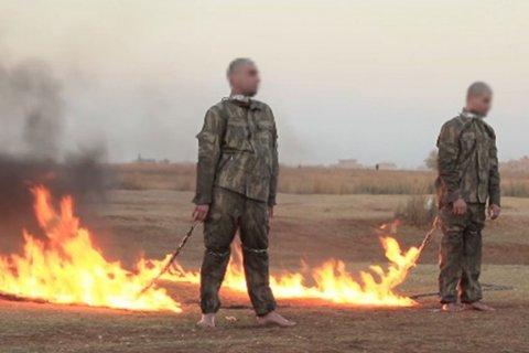 Боевики ИГ заживо сожгли в Сирии турецких военных