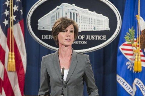 Трамп уволил исполняющую обязанности генпрокурора за критику его миграционного указа