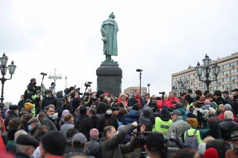 КПРФ провела в центре Москвы акцию протеста против подтасовок на выборах в Госдуму
