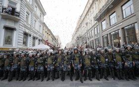 Опрос: Больше трети москвичей одобрили акции протеста