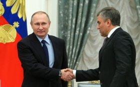 Володин: Россия создала первой вакцину от коронавируса благодаря… Путину