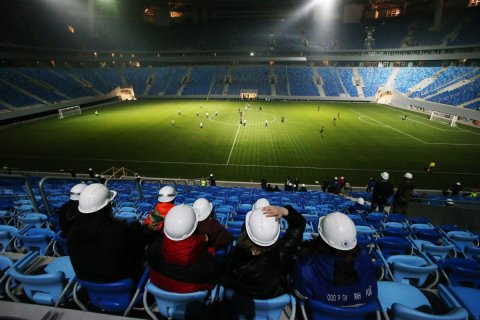 На Чемпионат мира по футболу выделено 156 млрд рублей