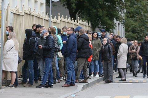 В Москве явка в первый день составила 0,5%