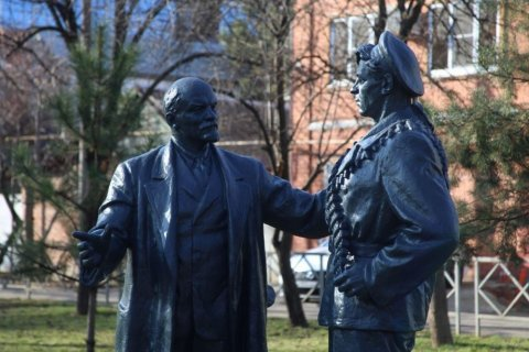 Коммунисты добились реставрации памятника Ленину в Краснодаре