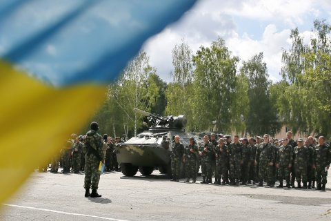 Украинские военные готовятся к силовой операции в Донбассе