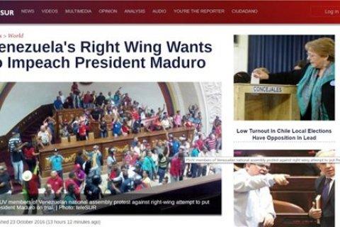 Иносми: В Венесуэле правые добиваются импичмента президента Мадуро