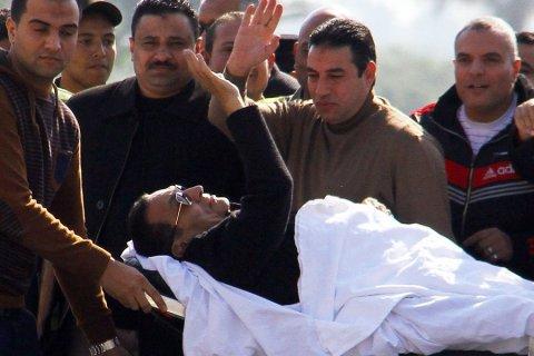 Бывший президент Египта Хосни Мубарак вышел на свободу