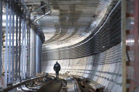 В Санкт-Петербурге метростроители устроили забастовку из-за невыплаты зарплаты