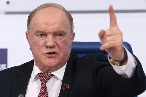 Геннадий Зюганов: Не отстоим Белоруссию, пожар может вспыхнуть в России!