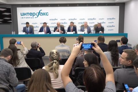 Пресс-конференция Геннадия Зюганова. Итоги выборов 2018 года. Он-лайн трансляция
