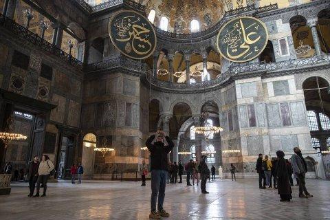 В Турции переделают собор Святой Софии в мечеть