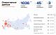 Число зараженных коронавирусом в России выросло до 1036