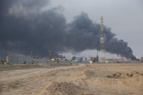 Иносми: террористы в Мосуле прячутся за спины мирных жителей