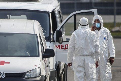 Количество заразившихся коронавирусом в России превысило 21 тысяч человек