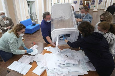 «Единая Россия» потеряла большинство в горсовете Новосибирска