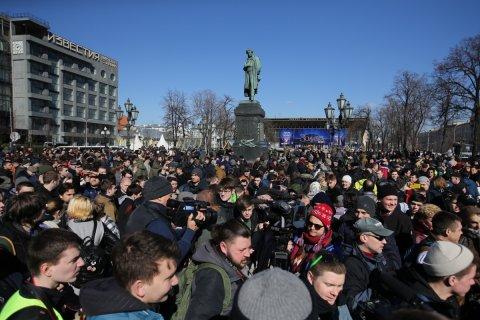 Антикоррупционные протесты одобрили 38 процентов граждан