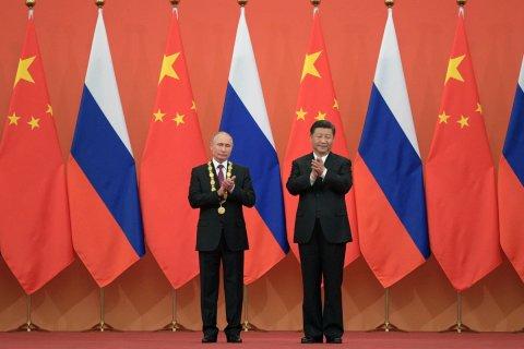 Путин подарил Си Цзиньпину баню