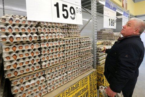 В России цены на продукты растут в 3 раза быстрее, чем в Европе