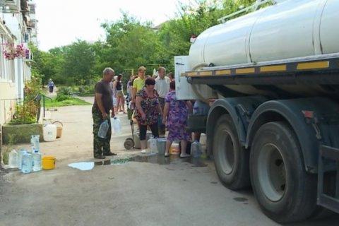 В Крыму из-за нехватки питьевой воды перестали ее очищать