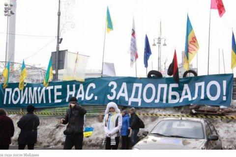 Иносми: Украина через три года после Майдана: разочарование, недоверие, пессимизм