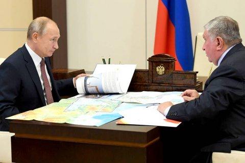 Путин в пятый раз за год встретился с Сечиным и снова одобрил ему новые льготы