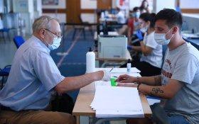 Явка на голосовании по поправкам в Конституции за пять дней составила 45,7%