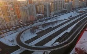 На Рублевском шоссе в Москве построили эстакаду за 1,3 млрд рублей. За десять дней. А по документам это вообще должен быть тоннель