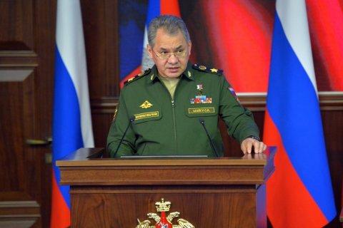Шойгу: российская операция в Сирии прервала цепь «цветных революций»