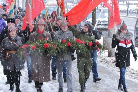 В регионах России отметили 102-ю годовщину создания Красной Армии