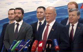 Геннадий Зюганов: Мы призываем друзей и союзников сплотиться во имя стабильности и законности в нашей стране