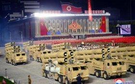 В Пхеньяне прошел военный парад в ознаменование завершения съезда Трудовой партии Кореи