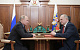 Путин поблагодарил Геннадия Зюганова за патриотическую позицию фракции КПРФ