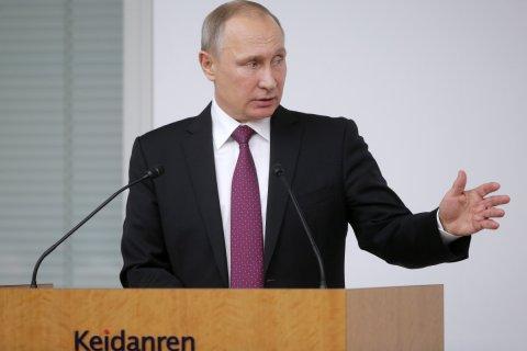 Путин предложил продолжить мирные переговоры по Сирии в Астане
