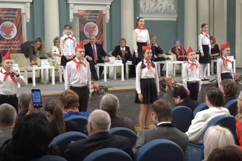В Госдуме проходит круглый стол, посвященный 8 Марта и V съезду ВЖС «Надежда России». Он-лайн трансляция