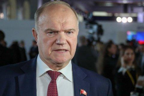 Геннадий Зюганов назвал призыв Жириновского запретить КПРФ «мерзкими провокациями»