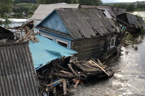 Ущерб от паводка в Иркутской области составил 29 млрд рублей
