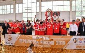 Спортивный клуб КПРФ по мини-футболу в третий раз стал чемпионом Высшей лиги