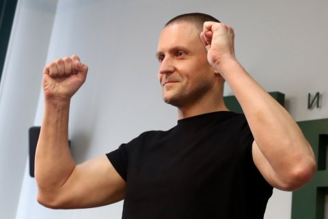 Удальцов заявил о возвращении в политику