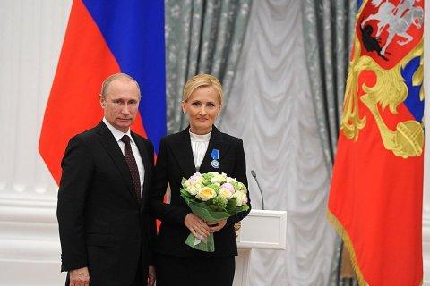 Путин объявил благодарность Яровой